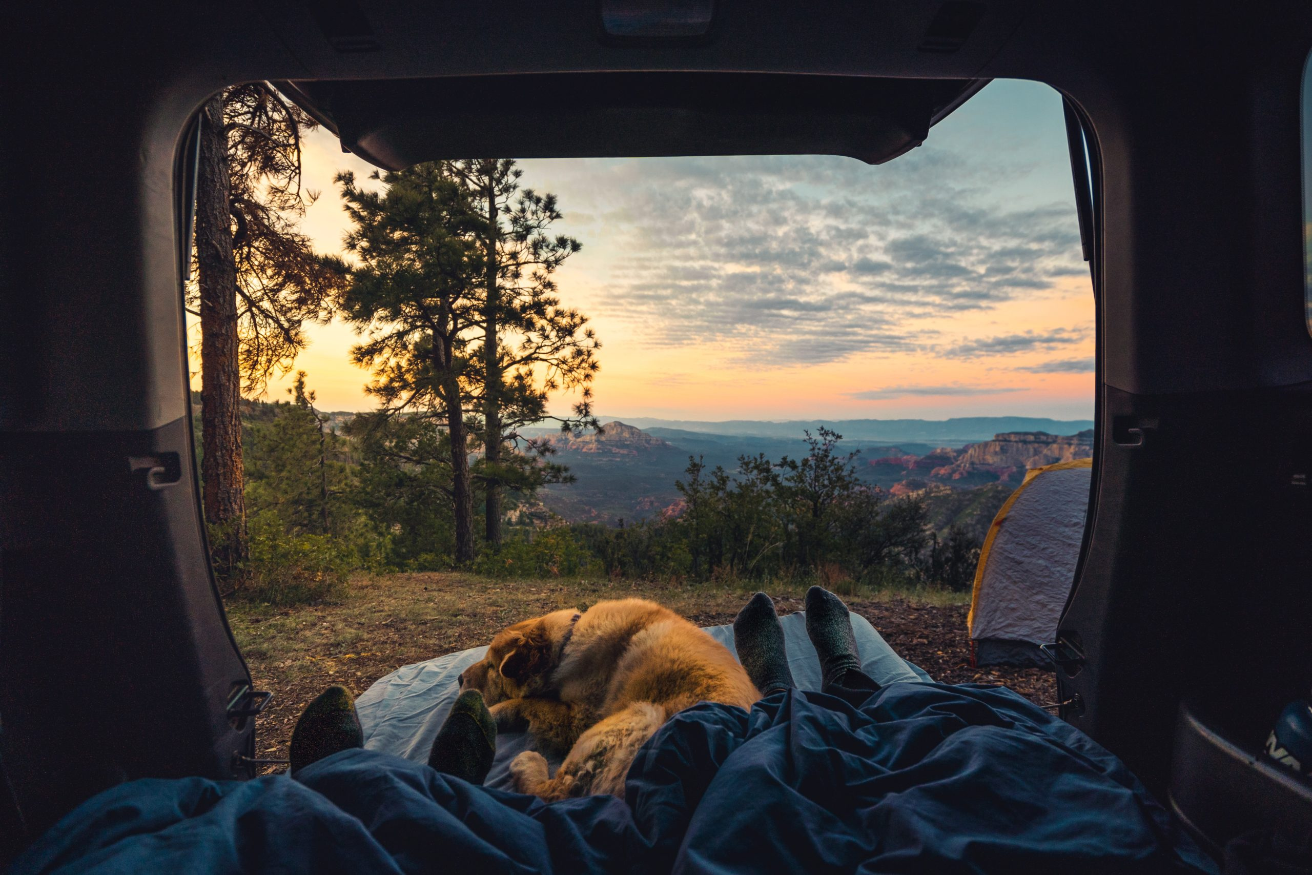 THE CHARM OF CAMPING