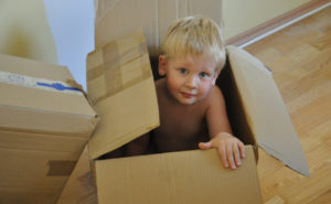 Read more about the article Thinking Out of the Box – Easy Toys for Kids