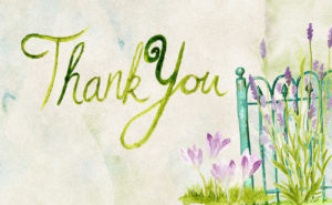 10 ways to say 'Thank you'