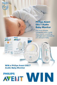 Win a Philips AVENT DECT Audio Monitor and a Digital Bath & Room Thermometer