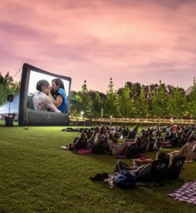 Win tickets to a movie under the stars